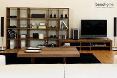 Pombal Living Room (TemaHome - Living Your Dreams) Tags: door tokyo bookshelf shelf modular fusion coffeetable pombal glassdoor estante tema tvtable modularsystem portadecorrer temahome slinding
