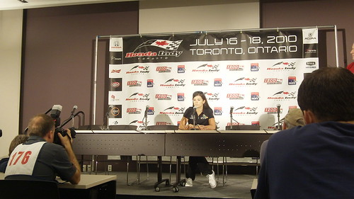 Press Conference with Danica