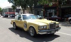 1978 Cadillac Seville Opera (dave_7) Tags: show street classic car yellow opera seville cadillac 70s 1978 rare caddy lethbridge wheelers 2010 showshine lethbridgestreetwheelers