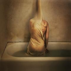 experimental growths (brookeshaden) Tags: water flesh skin grunge sac growth bathtub murky selfie brookeshaden texturebylesbrumes