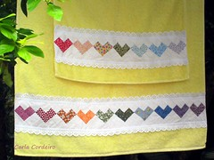 Atendendo  pedidos: passo-a-passo do Seminole Corao  (Carla Cordeiro) Tags: toalha seminole patchwork jogo pap passoapasso jogodetoalhas seminolecorao