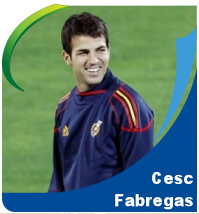 Pictures of Cesc Fabregas!