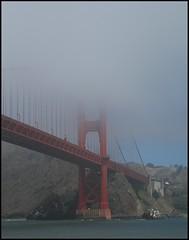 Day Three: Golden Gate Bridge (AlisonLOL) Tags: sf sanfrancisco california ca trip bridge cruise vacation fog foggy goldengatebridge