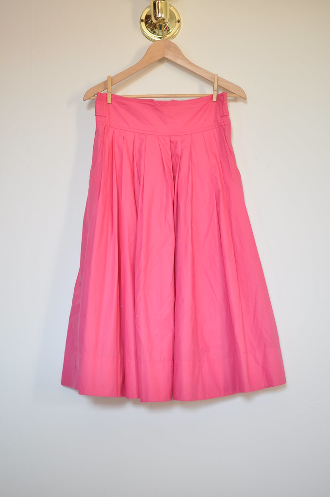 H&M long pink skirt