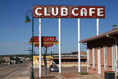 club café on will rogers dr.
