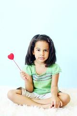 I Heart This (natsipoo) Tags: pink girl sisters siblings fleece seamless 4yrs 9mths mistyblue natsipoo