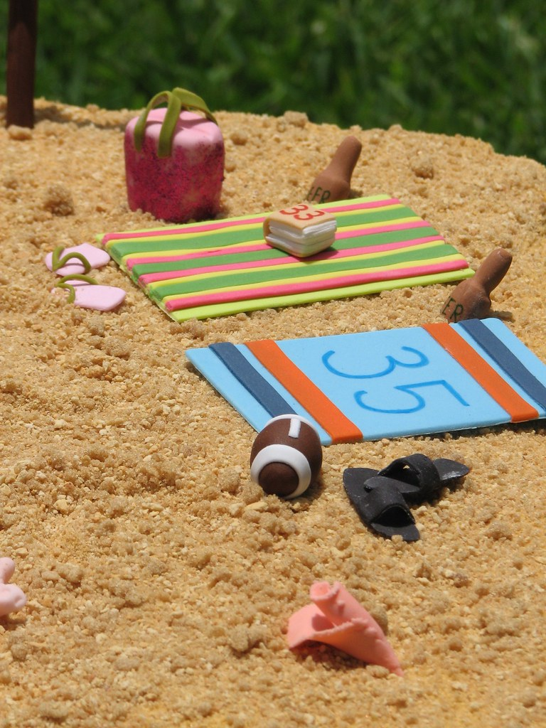 Beach Cake Decorations