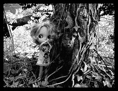 Haunted (sozzielou) Tags: tree halloween forest woods doll ghost haunted hollywood blythe takara matte bl boutiquedelupi challenge7 blythephysicalchallenge