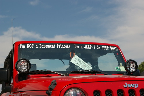 Best Jeep Front Window Decal At The Show