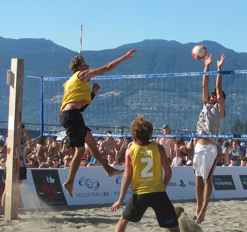 "Vancouver Open Beach Volleyball at Kitsilano ""Kits"" Beach"