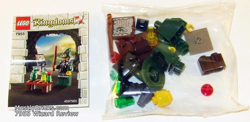 LEGO Kingdoms 7955 Wizard Review (2010)