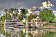 Liberty Belle (Ray Horwath) Tags: nikon disney disneyworld nikkor wdw waltdisneyworld steamship magickingdom waltdisney libertysquare paddlewheel paddlewheeler nikkorlens libertybelle horwath photomatix d700 nikkor50mmf14lens disneyphotos rayhorwath mygearandmepremium