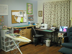 sewing space after