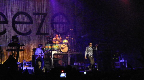 Weezer at Ottawa Bluesfest 2010