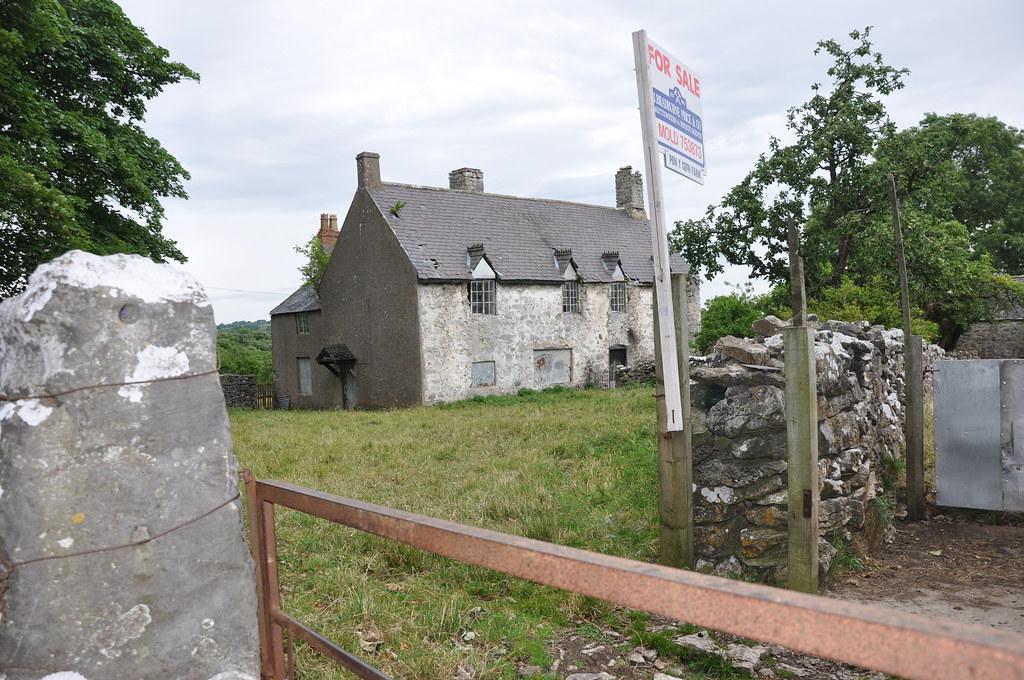 Derelict Houses, Flintshire, North Wales - July 2010