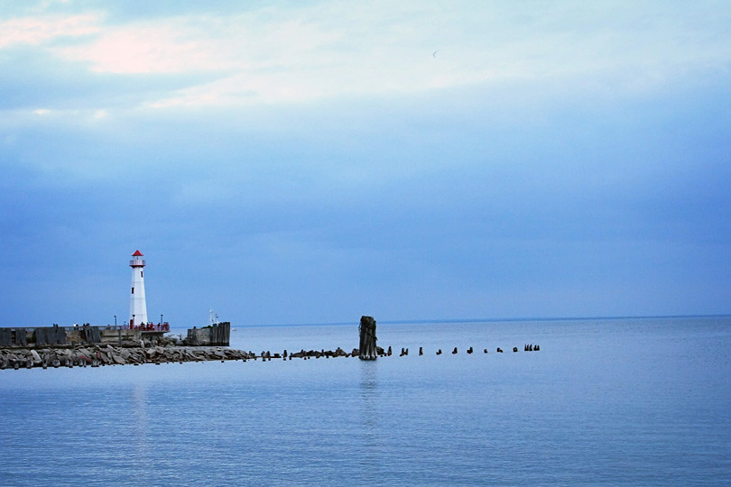 Lighthouse in St. Ignace