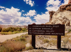 Caineville Wash Road