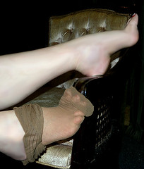 Me, My foot nude, stockings (Sugarbarre2) Tags: show city people urban woman usa cute me girl beautiful mom suck photo nikon image sweet flash babe lick eat wife nylon 365days