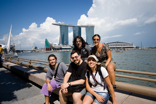 Singapore with friends