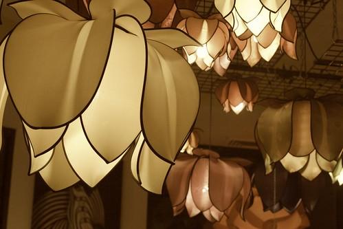 Lamps #6, sepia
