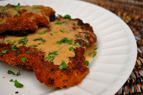Veal Scaloppine With Lemon Cream Sauce
