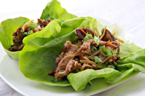 Moo Shu Pork Lettece Wraps 550