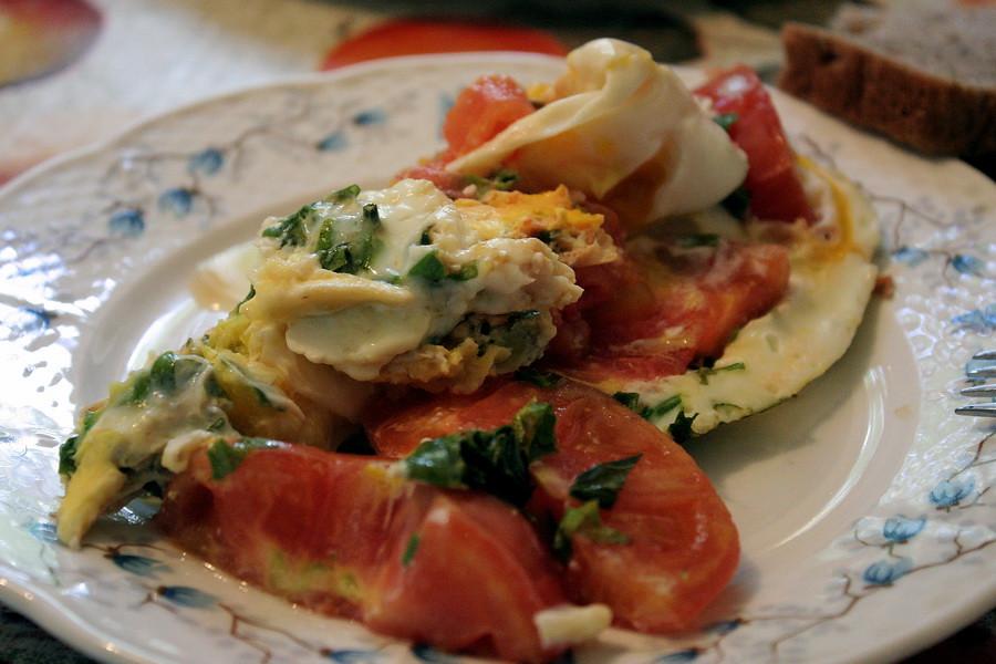 Eggs & Tomatoes