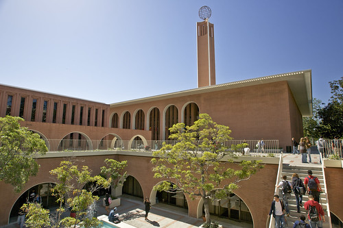 Social Sciences Building, Von KleinSmid Center and Bogardus Courtyard