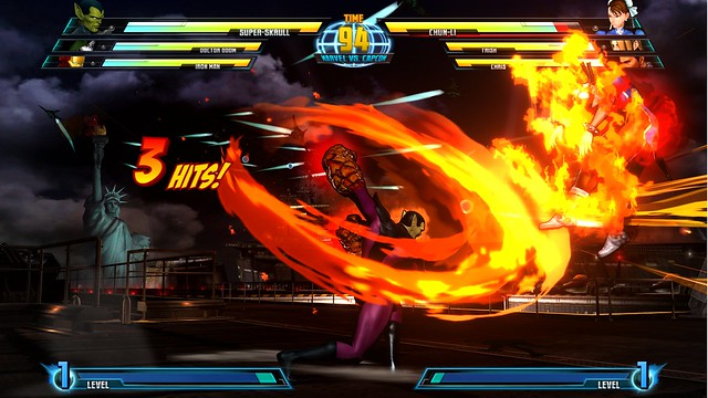 Super Skrull VS Chun Li