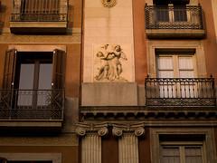 SB700005.jpg (Keith Levit) Tags: barcelona windows sculpture window stone photography spain europe exterior balcony fineart columns spanish balconies column sculptures effigy rambla exteriors effigies levit faade keithlevit keithlevitphotography