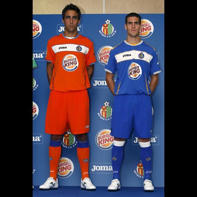 Getafe Joma 2010/11 Home, Away and Third Kits / Camisetas
