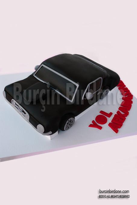 Mustang Cake 1