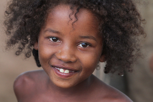 smiling little girl, Madagascar Kids 6