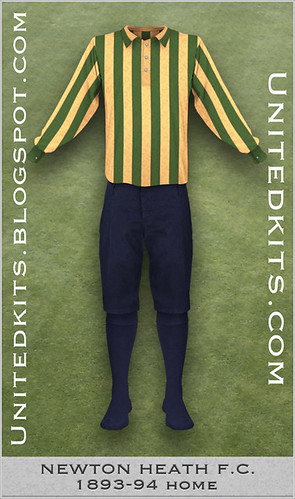 Newton Heath 1893-94 Home kit