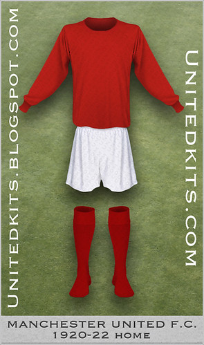 Manchester United 1920-1922 Home kit