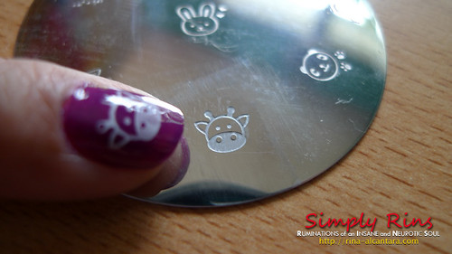 Nail Art Holy Cow 01
