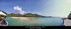 Panorama Captain Hook Resort ,Koh Kood /   (AmpamukA) Tags: travel sea sky panorama mountain beach beautiful thailand resort captain hook koh trad kood       totallythailand  ampamuka