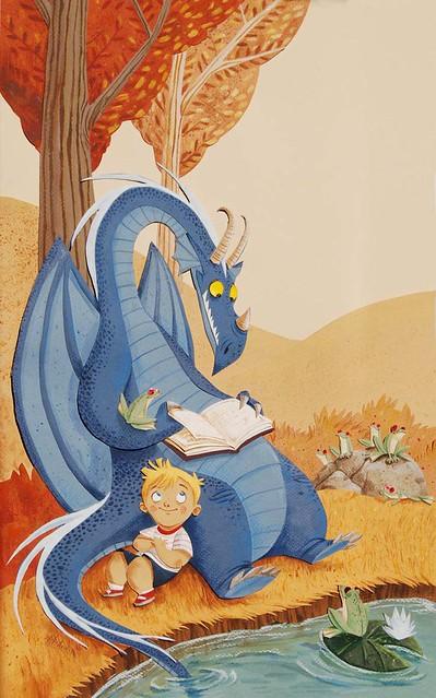 dragón_lector_M_Armiño