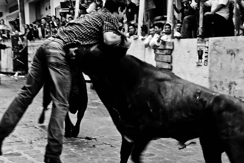 Al Toro Por Los Cuernos by Alex Caballero.