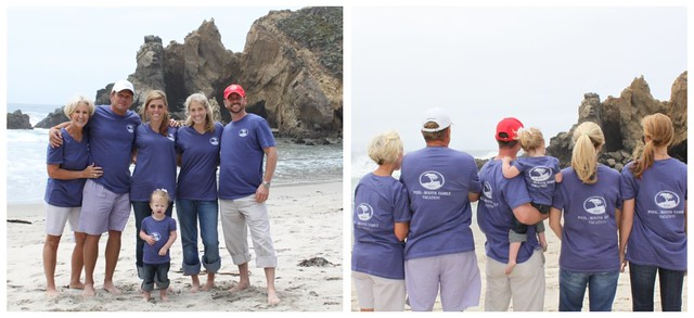 Picnik Collage Of Course I Made Matching Family Vacation Shirts