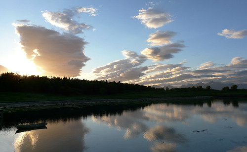 Arctic Cloudreflections