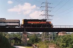 RS18 (Fan-T) Tags: railroad bridge ohio car train scenic railway valley dome cuyahoga bo passenger akron streamliner alco fpa4 rs18 cvsr