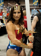 Buff Wonder Woman (San Diego Shooter) Tags: portrait sandiego cosplay wonderwoman comiccon halloweencostumes comicconinternational costumeideas comiccon2010 comicconcostumes2010 comicconsandiego2010 buffwonderwoman