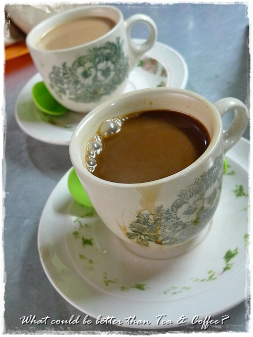 Tea, Coffee @ Toh Soon Cafe
