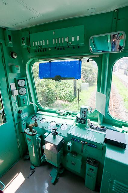 銚子電鉄2000形 デハ2002運転台