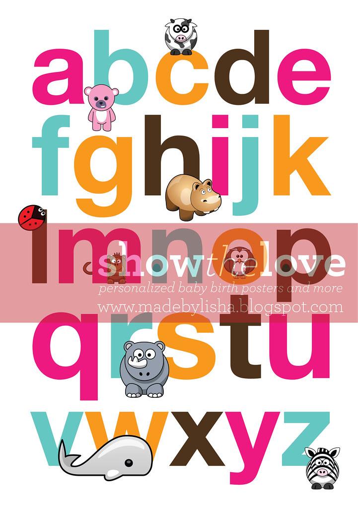 fatin alphabet