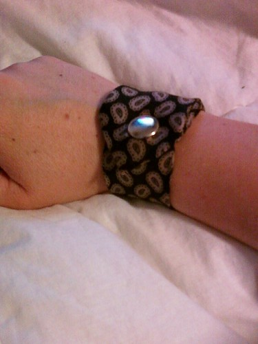 Summer Camp Tie Cuff Bracelet
