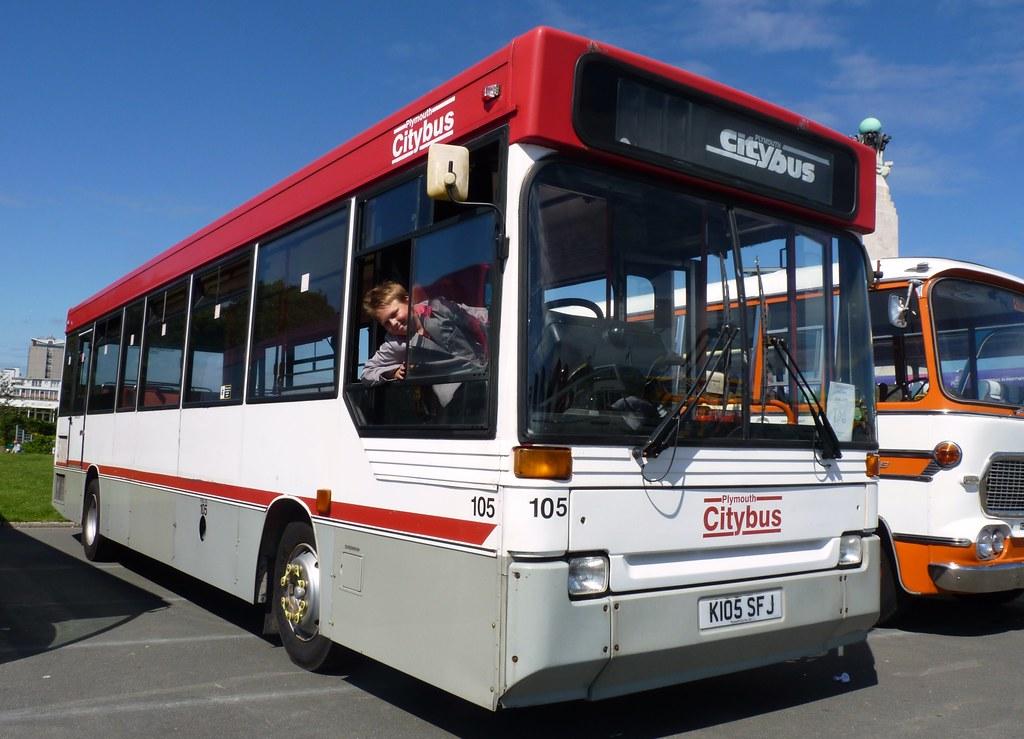 plymouth Citybus 105 K105SFJ (PCTPG)