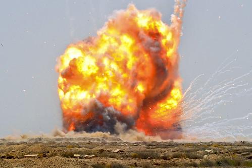 Controlled detonation