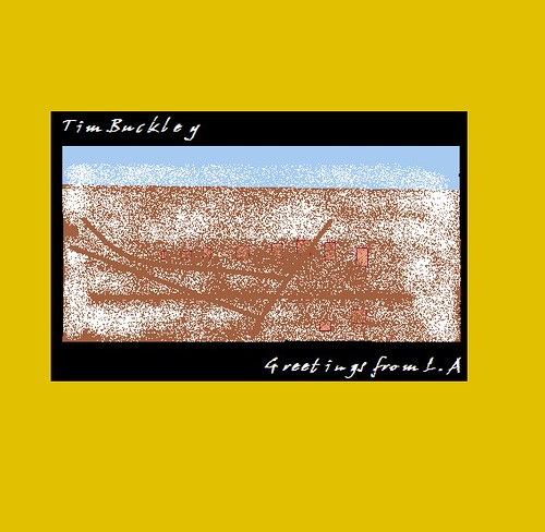 Paintmyalbum 2000 classic album covers redos most tim buckley greetings from la cousin creep usa m4hsunfo